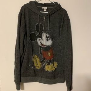 Disney   Mickey Mouse   Hoodie with Zipper